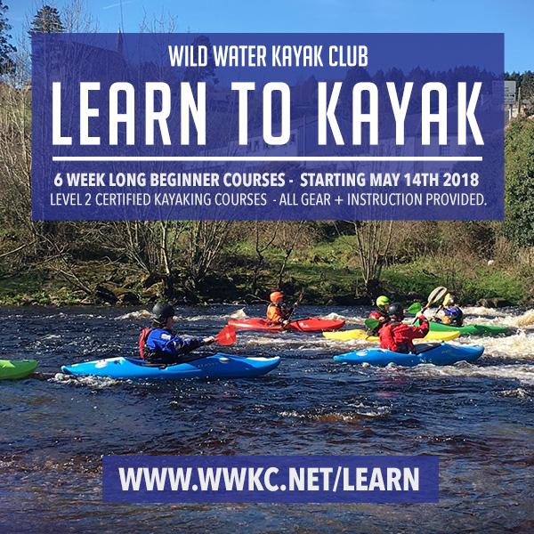 Learn to Kayak in Dublin