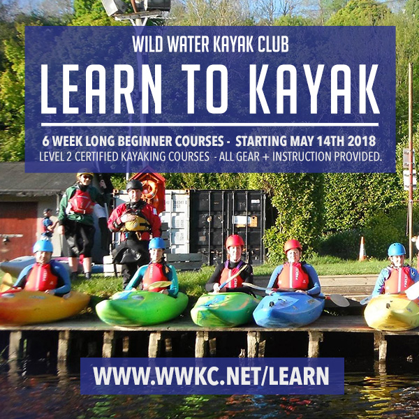Kayaking course Dublin, learn how to kayak in Dublin