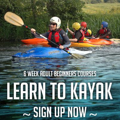 Beginners Kayaking Course Dublin